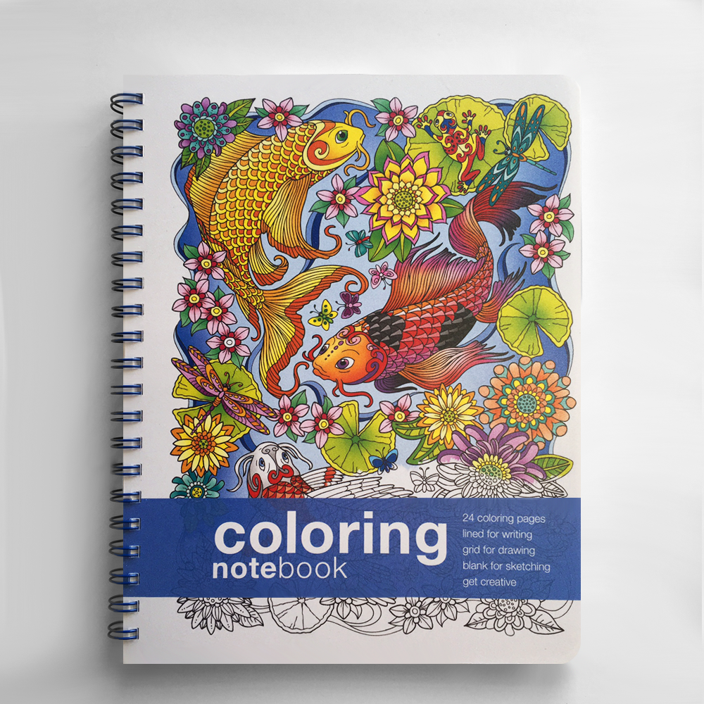Coloring Notebook | Fun Notebooks | Action Publishing