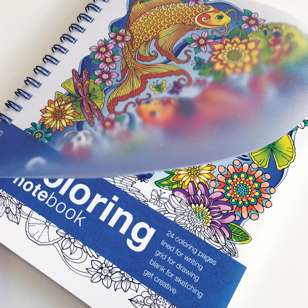 Coloring notebook fun notebooks action publishing Coloring book notebook