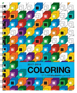 2017-2018 Coloring Academic Agenda [Grades 5th-12th] (7