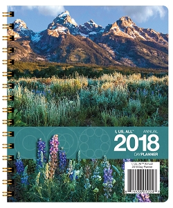 I, Us, All Annual 2018 Day Planner (7