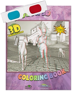 iColor 3D Dream Castle Coloring Book