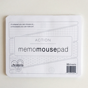 Action Memo Mousepad Notepad (Single Count)