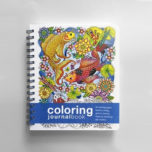 Coloring JournalBook (8.5 x 7 inches)