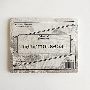 Cabinet of Curiosities Dragonfly Memo Mousepad (Single Count)