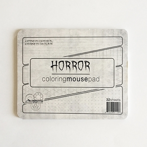 Horror Coloring Memo Mousepad (Single Count)