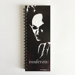 Horror Movies Nosferatu ListBook (4.25 x 11 inches)