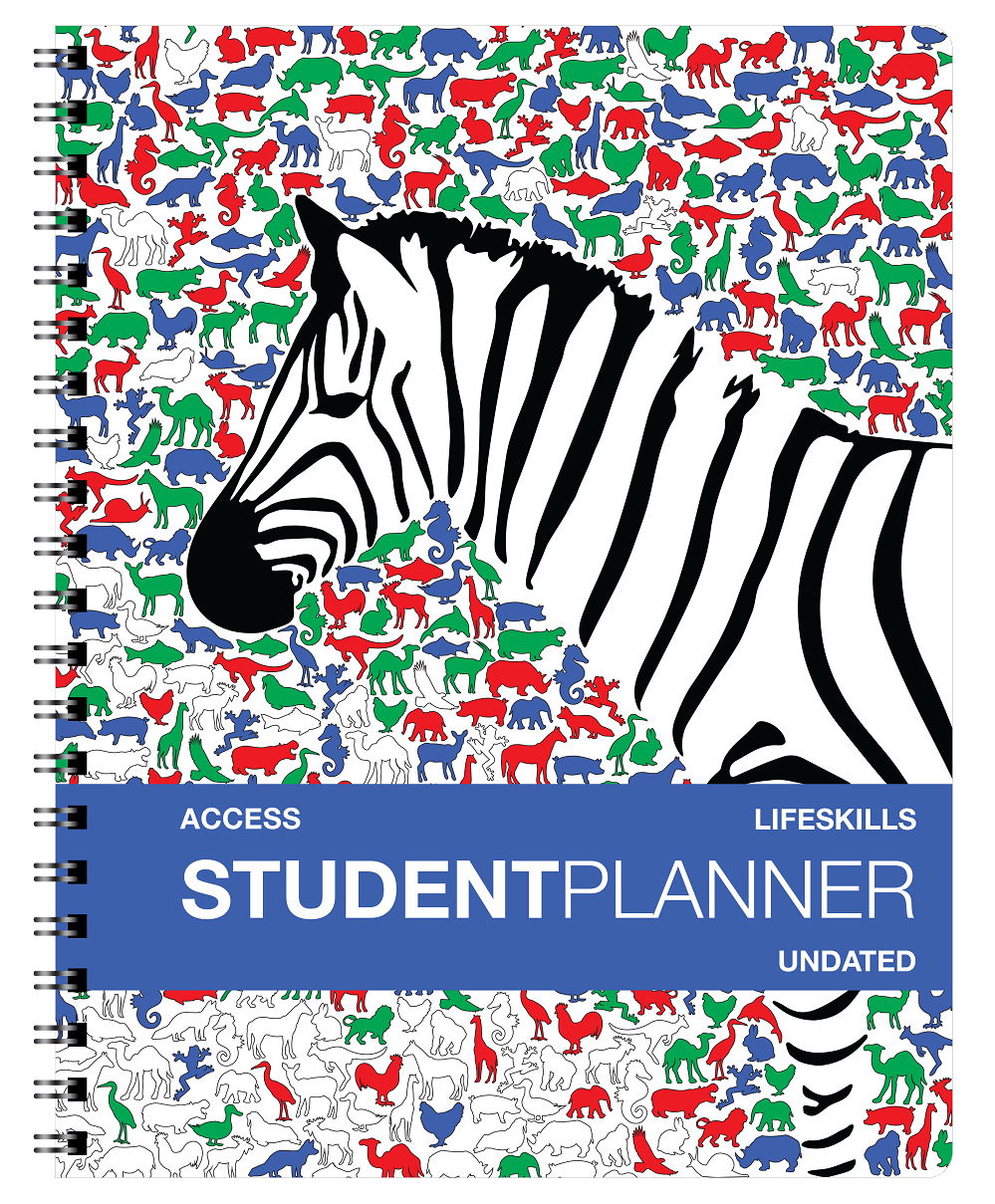 "Undated Access Student Agenda [Grades K - 2nd] (8.5"" x 11"") Large"
