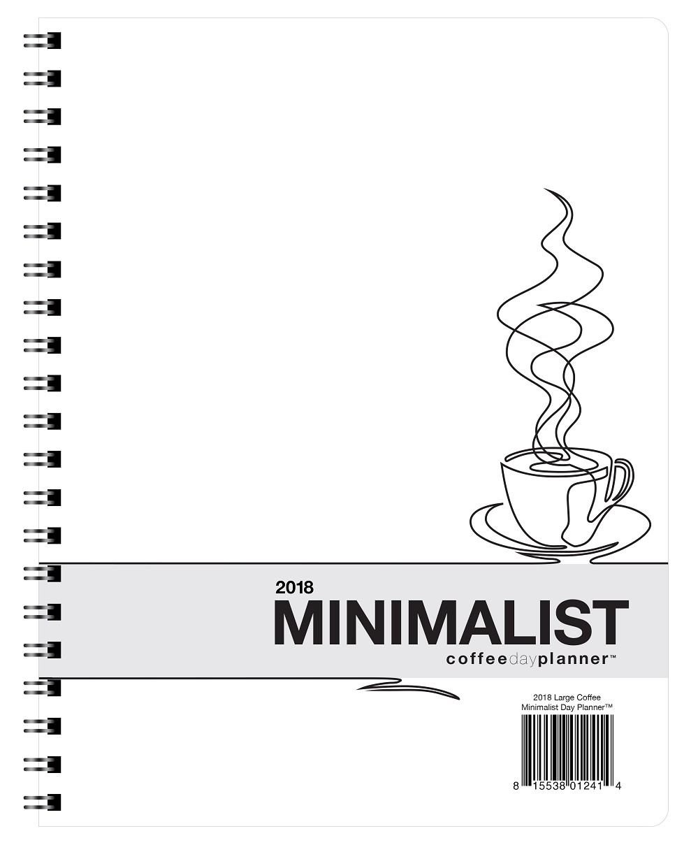 2018 Coffee Minimalist Day Planner
