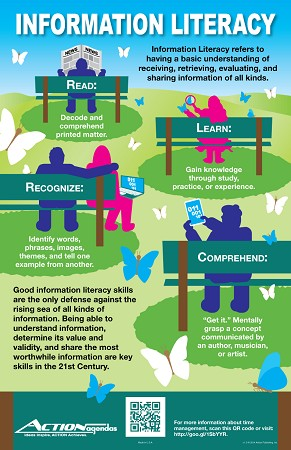 "Life Skills Information Literacy Poster (11"" x 17"")"
