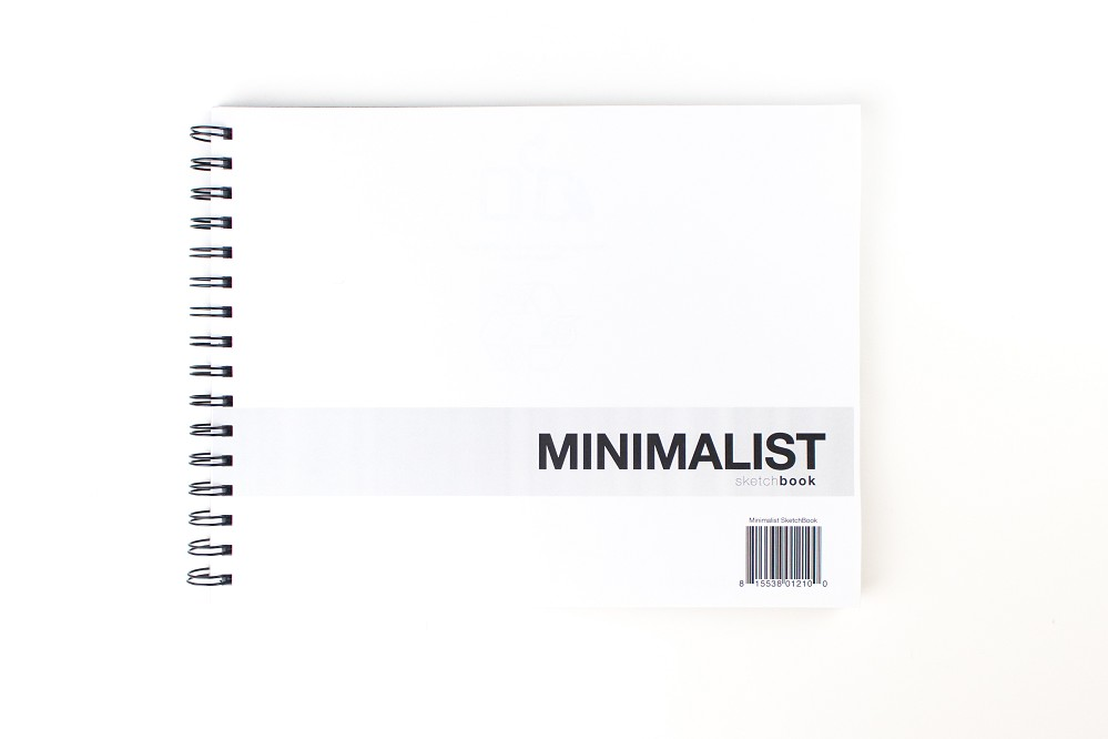 Minimalist SketchBook (11 x 8.5 inches)
