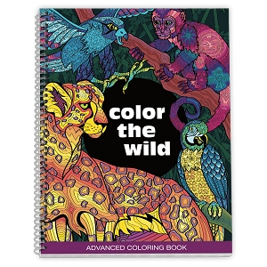 Color the Wild Adult Coloring Book