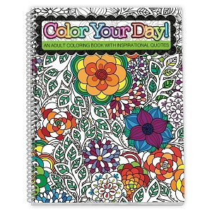 Adult Coloring Planner | Adult Coloring Book Planner