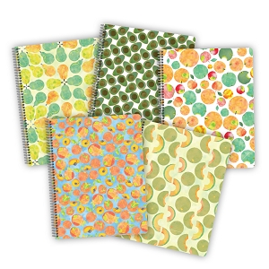 Fruit Notebooks