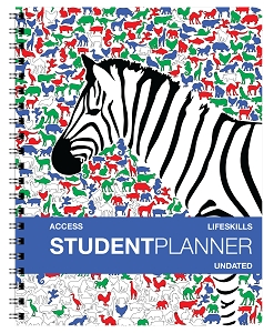 Undated Access Student Agenda [Grades K - 2nd] (8.5