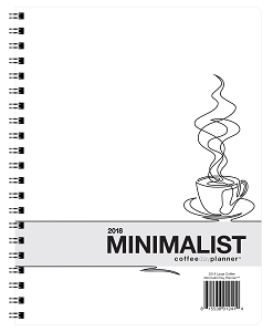 2018 Minimalist Day Planner - Coffee