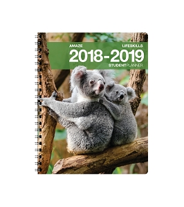 2018-2019 Amaze Life Skills Student Planner [Grades 2nd - 6th] (8.5 x 11 inches)