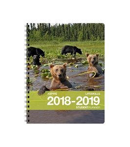 2018-2019 Aspire Life Skills Student Planner [Grades 6th-12th] (8.5 x 11 inches)