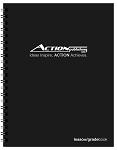Action Lesson Planner/GradeBook Combo (8.5 x 11 inches)