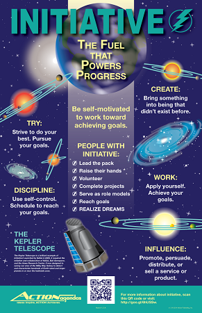 Initiative Poster | Motivational Posters for Classrooms