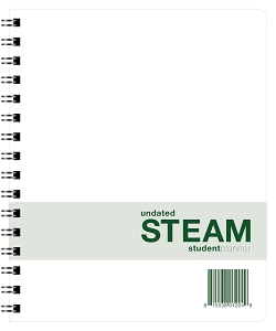 Undated STEAM Student Planner