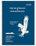 Whaley Gradebook (9 x 12 inches) 3-Line Grade And Attendance Record Book, Four 10-Week Sessions (9GB-049)
