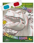 iColor 3D Dinosaurs Coloring Book