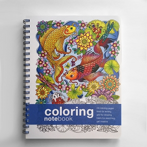Coloring NoteBook (11 x 8.5 inches)