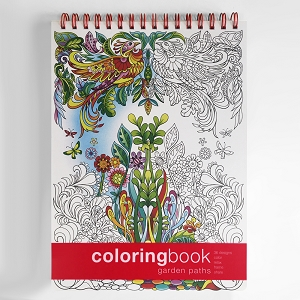Garden Paths Coloring Book