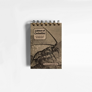 Cabinet of Curiosities Crustacean PocketBook (4.5 x 5.5 inches)