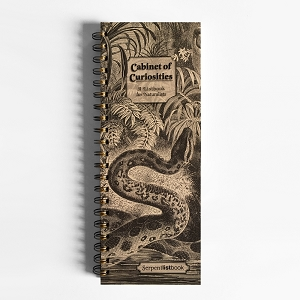 Cabinet of Curiosities Serpent ListBook (4.25 x 11 inches)