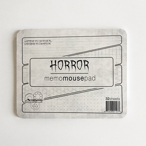 Horror Memo Mousepad (Single Count)