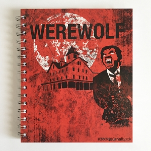 Horror Movies Werewolf JournalBook (7 x 8.5 inches)