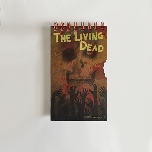 Horror Movies Living Dead StenoBook and Zombie Survival Guide