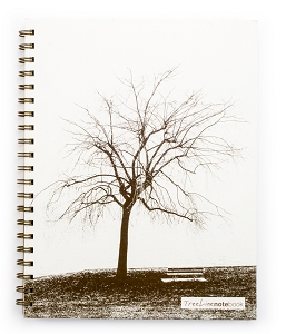 TreeLine NoteBook (8.5 x 11 inches)