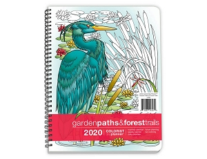 Garden Paths and Forest Trails Annual Planner