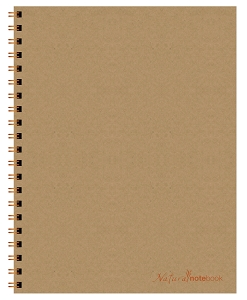 Natural NoteBook (8.5 x 11 inches)