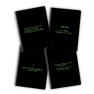 Coding Notebooks