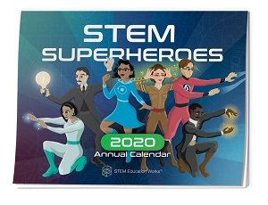 STEM Hero Annual Wall Calendar