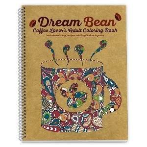 Dream Bean™ Coffee Lovers Adult Coloring Book