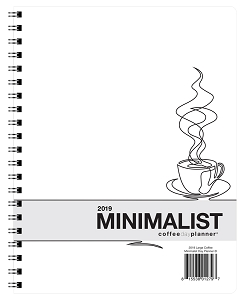 2019 Minimalist Day Planner - Coffee