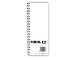 Minimalist ListBook Special Edition Silver