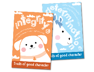 Character Education Poster Sets: Illustration 1