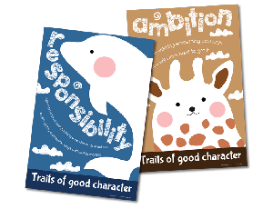 Character Education Poster Sets: Illustration 2