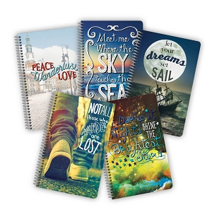 Wanderlust Quote Notebooks