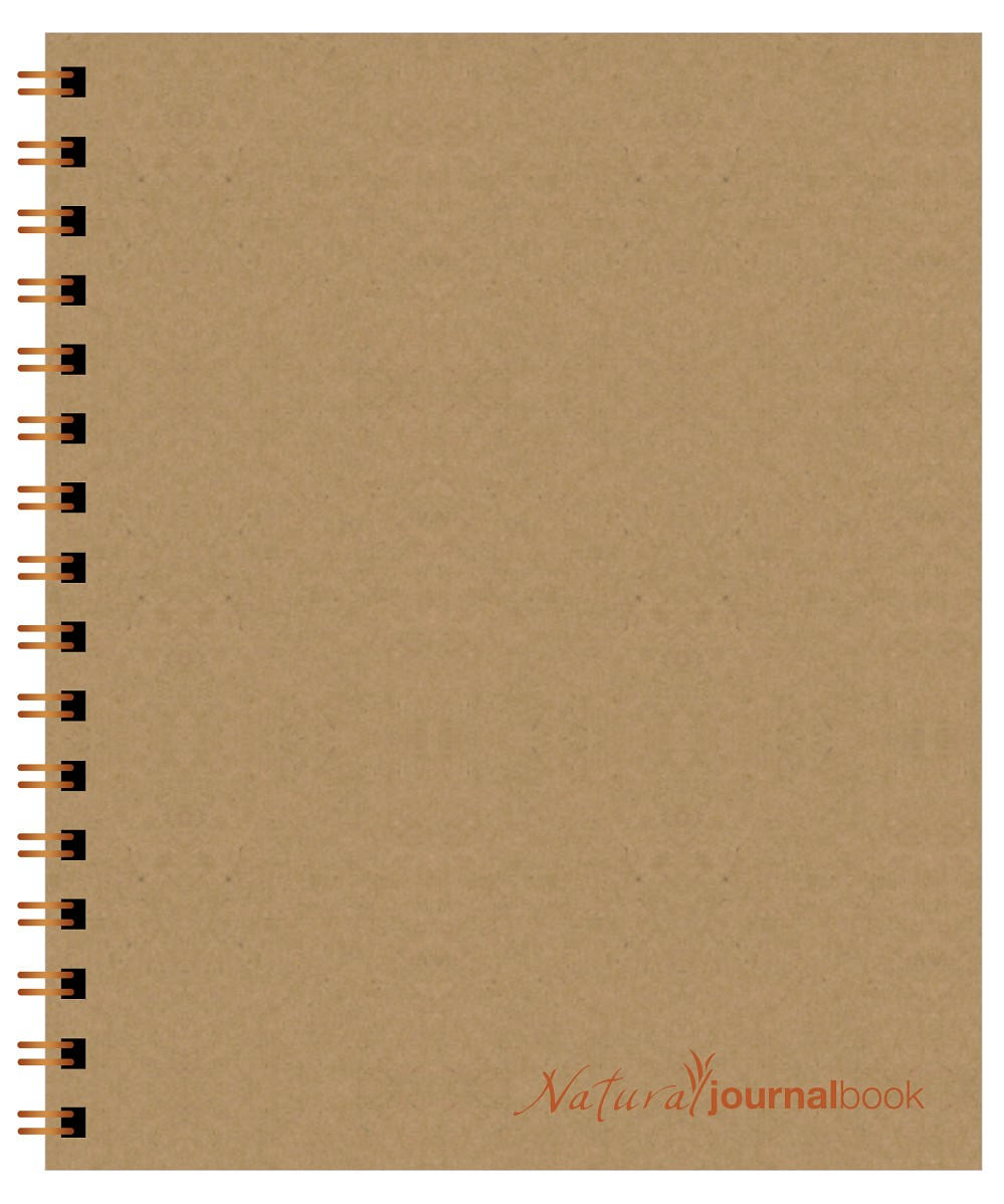 Natural JournalBook (7 x 8.5 inches)