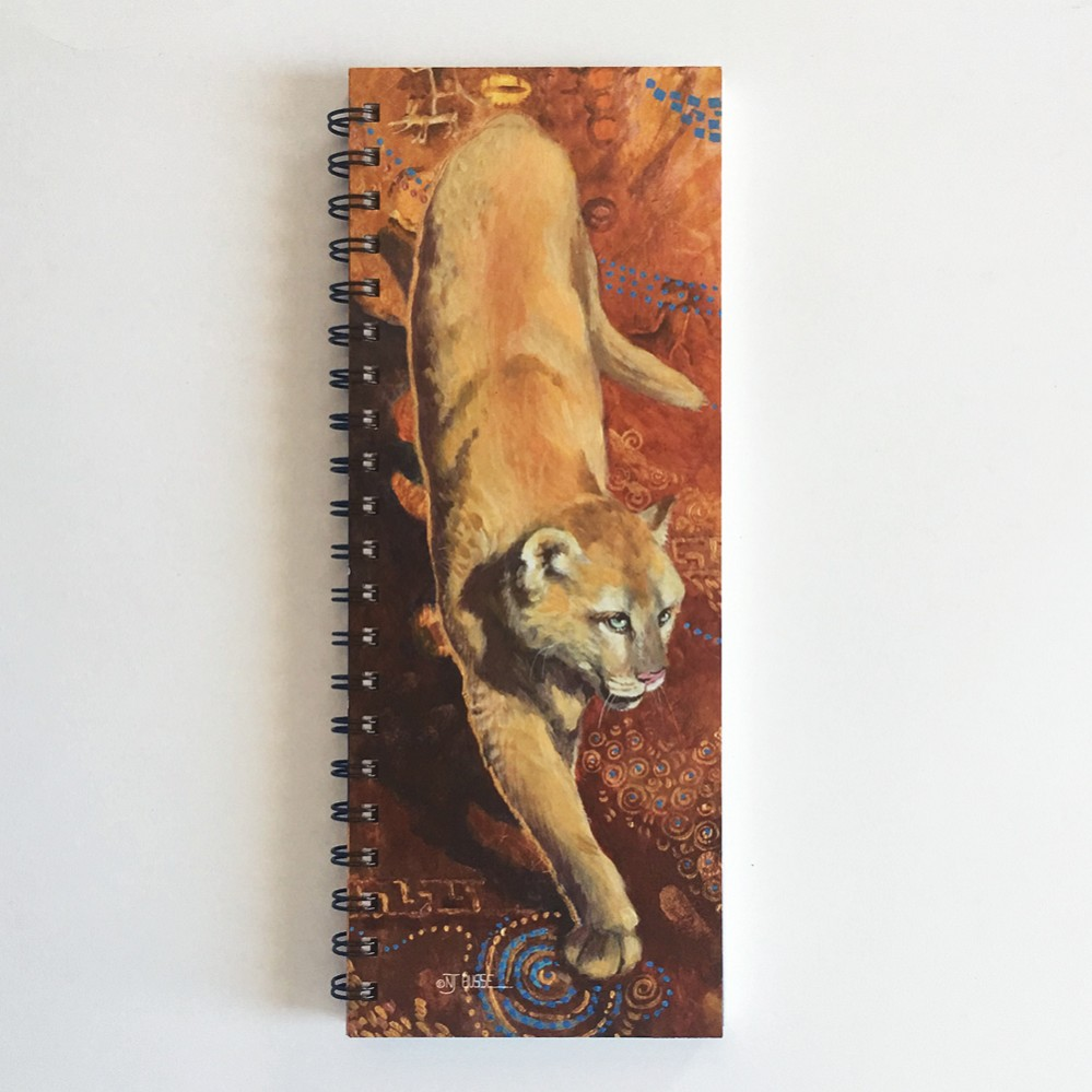 Beautiful Puma ListBook (4.25 x 11 inches)