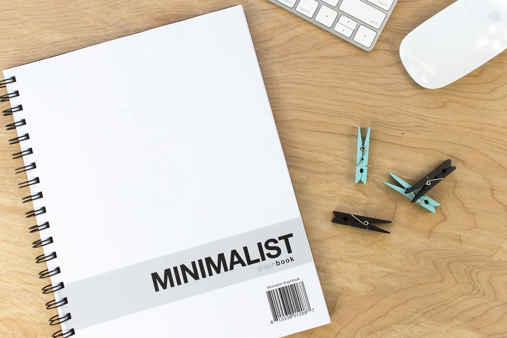 Minimalist GraphBook (8.5 x 11 inches)