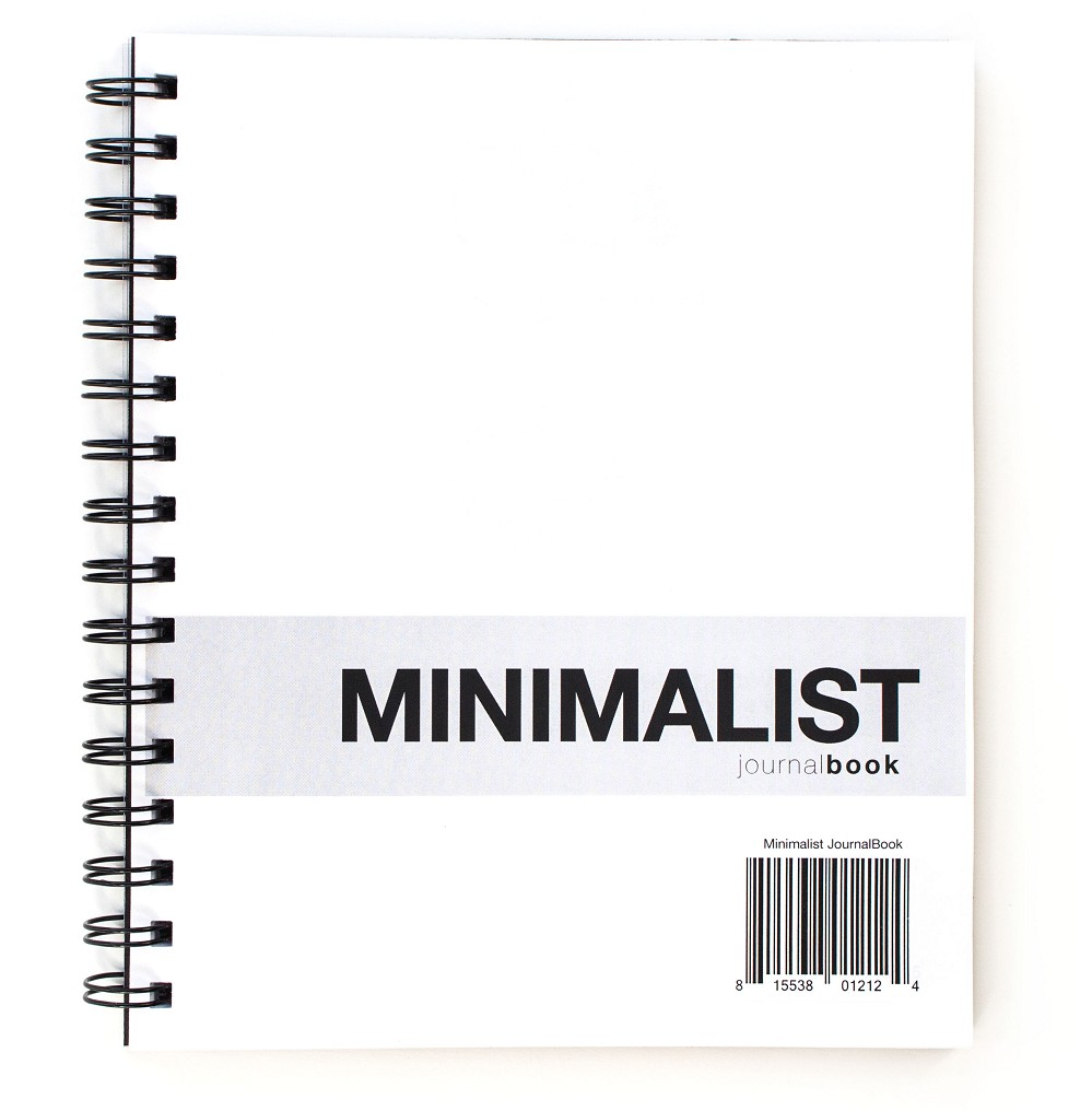 Minimalist JournalBook Cover