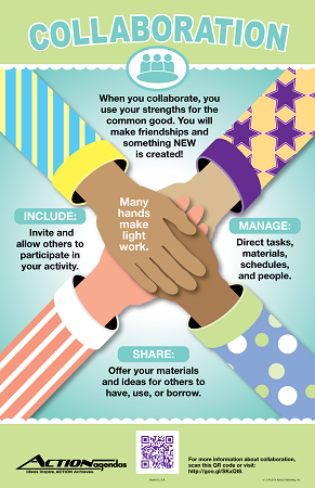 "Life Skills Collaboration Poster (11""x17"")"